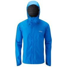 RAB Downpour Pertex Shield Lightweight Waterproof Jacket Mens Medium Maya Blue