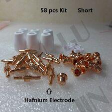 58pcs Hafnium short tip electrode CT520D LT5000D 50R 40R 5000D 5200DX