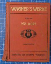 Richard Wagner Der Ring des Nibelungen Erster Tag Die Walküre Klindworth W1651