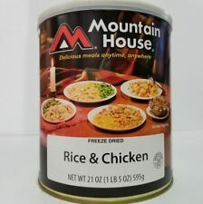 Mountain House Freeze Dried Food Rice & Chicken #10 Can