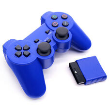USB 2.4ghz Wireless Gamepad Controller Dual Shock Joystick Joypad For Sony PS2