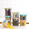 9-Piece Set Food Storage W Sealed Lid Container Kitchen Canister Set Organiser