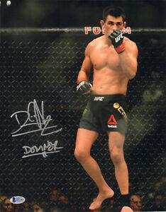 DOMINICK CRUZ SIGNED AUTO'D 11X14 PHOTO BAS COA UFC 199 WEC CHAMP VS DILLASHAW H
