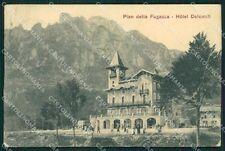 Trento Vallarsa Pian delle Fugazze cartolina XB0228