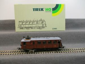 Trix H0 22485 Dampftriebwagen Kittel der K.W.St.E. DW 8 Analog in OVP