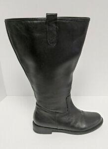 David Tate Best Knee High Boots, Black, Women's 9 M (Extra Wide Calf)