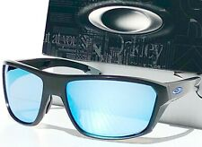 NEW* Oakley SPLIT SHOT BLACK POLARIZED DEEP WATER BLUE PRIZM Sunglass 9416-06