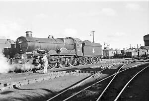9x6cm Railway Negative 5003 Lulworth Castle @ Exeter MPD 25-8-1956 (L Marshall P