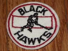 "Rare 1960's Vinatge Chicago Blackhawks Patch 2"" Round New Old Stock Hockey *Q2"
