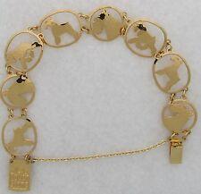Schnauzer Jewelry Schnauzer Gold Bracelet by Touchstone