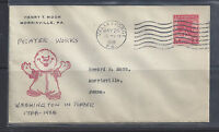 #645 Valley Forge first day cover with cachet