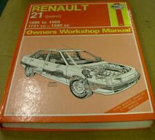 RENAULT 21 1986 - 1989 USED HAYNES WORKSHOP MANUAL