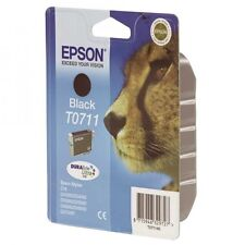 8 CARTUCHOS EPSON TO711-712-713-714 COLOR Y NEGRO originales 100%