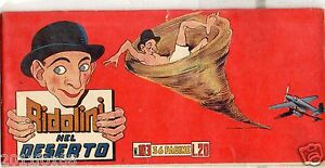 striscia ridolini n.103 serie rossa ottima originale ed.torelli 1951 larry semon