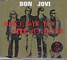 Bon Jovi - Who Says You Cant Go Home - CD1 - maxi single 2 tracks