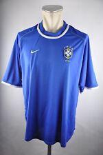 Brasilien Trikot 2000-02 Nike Gr. L WM Jersey Away Brazil World Cup blau