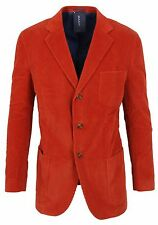 GANT Herren Kord Sakko Men Jacket Jacke Größe 48 M CORD BLAZER Orange NEU NEW