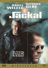 THE JACKAL Movie POSTER 27x40 B Bruce Willis Richard Gere Sidney Poitier Diane
