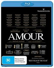 *New & Sealed*  Amour  (Blu-ray, 2013) Region B Australian