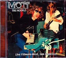 MOTT THE HOOPLE live fillmore west, san francisco CD NEU / NEW OVP Sealed