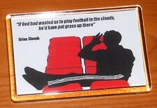 Brian Clough Nottingham Forest Football Grass Quote Fridge Magnet