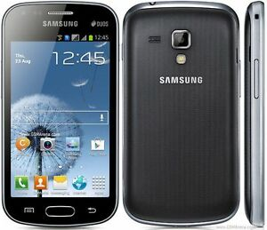 Samsung Galaxy S Duos Dual Sim GT-S7562 Android White Black Sim Free Smartphone