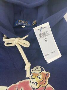 Polo Ralph Lauren Tigers 67 Hoodie Pullover Sweatshirt - SIze M Navy Blue - NWT