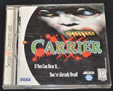 Carrier (Sega Dreamcast) RARE! - GOOD!