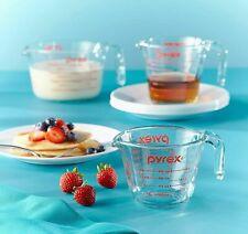 Pyrex Glass 3-Piece Measuring Cup Set