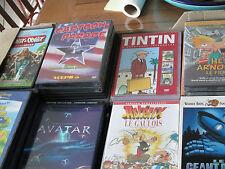 lot de 83 dvd pour enfants et adultes