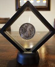 Headless Horseman 2 oz .999 Silver Coin Antiqued Sleepy Hollow NY Ghost Framed