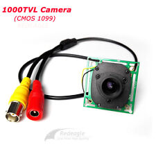 CCTV 1000TVL CMOS IR CUT Filter Security Camera 3.6MM Lens Mini Board Module