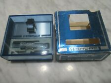 SHURE M95HE CARTRIDGE AND GENUINE SHURE N95HE STYLUS IN PLASTIC DISPLAY CASE