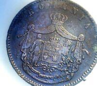 Moneda rumana de 10 Bani, 1867