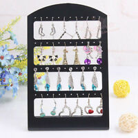 48 Holes Earrings Ear Studs Jewelry Show Display Stand Organizer Holder