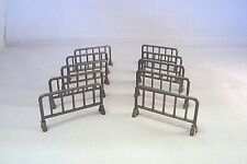 Spectator Fencing Barriers For Slotcar and Scalextric 3D Printed. Approx 1:32