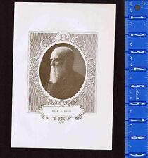 Noah K. Davis of Virginia -1909 Historical Print