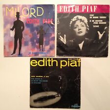 LOT DISQUES 45T SPECIAL EDITH PIAF