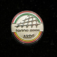 Torino 2006 20th Winter Olympic ARD German Television media pin