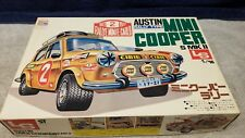 Vintage LS Austin Mini Cooper S MK II Rally Plastic Model Kit 1:16 Boxed Sealed