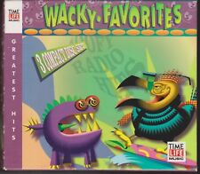 TIME LIFE Wacky Favorites WEIRD & WILD CRAZY CLASSICS HITS 3 CD Greatest Rock
