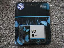 2015 HP 92 Black ink cartridge C9362WN genuin oem sealed