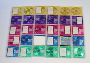 Job Lot of 30 Maxell Mini Discs Recordable MD 74mins - Used Bundle