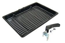GRILL PAN vassoio e manico per HOTPOINT INDESIT Beko Bosch Belling FORNI CUCINE ECONOMICHE