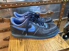 Nike Air Force 1 Low 07 Supreme Max Air London Navy Blue Size 10 316666-441