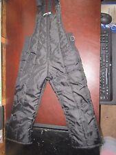 Alpine Train Size 5 Black snow pants ski suit Pants bibs cute sledding cold