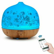 500 ml Designer Glass Ultrasonic Aromatherapy Essential Oil Diffuser & Cool Mist