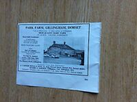 T1-2 ephemera 1964 advert house sale park farm gillingham
