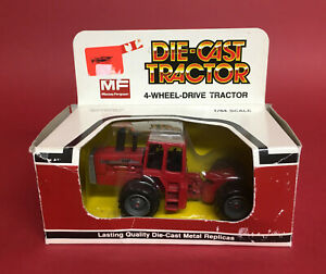 1990's ERTL 1/64 Massey Ferguson 4880 4WD Tractor No1727 ExIB