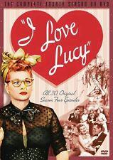 I Love Lucy (Complete 4th Fourth Season) 5-DISC THICKER DVD BOX SET (NIP)!
